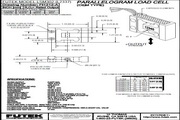 Futek LSM302应变式力传感器 产品说明书