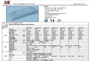 UE UEL160-SYYYV系列单路输出开关电源说明书