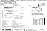 Futek LRM200应变式力传感器(S 型) 产品说明书