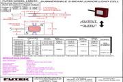 Futek LSB210应变式力传感器(S 型) 产品说明书