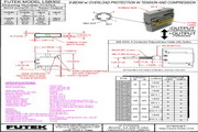 Futek LSB302应变式力传感器(S 型) 产品说明书