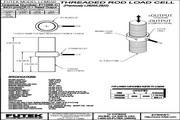 Futek LCM550应变式力传感器(轴向拉压型) 产品说明书