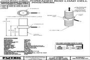 Futek LCM675应变式力传感器(轴向拉压型) 产品说明书