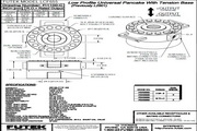 Futek LCF655应变式力传感器 产品说明书