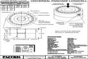 Futek LCF775应变式力传感器 产品说明书