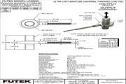 Futek LCF455应变式力传感器 产品说明书