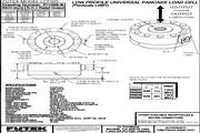 Futek LCF550应变式力传感器 产品说明书