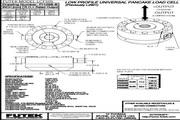Futek LCF650应变式力传感器 产品说明书