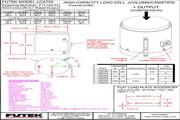 Futek lCB200应变式力传感器 产品说明书