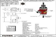 Futek lCB450应变式力传感器 产品说明书
