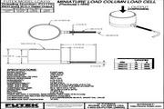 Futek LCA310应变式力传感器 产品说明书