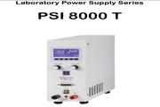 实验室电源供应器系列PSI 8000T说明书