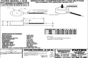Futek LCA600应变式力传感器 产品说明书
