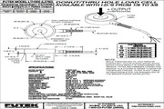 Futek LTH300应变式力传感器 产品说明书
