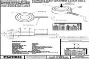 Futek LLW300应变式力传感器 产品说明书