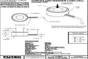 Futek LLW470应变式力传感器 产品说明书