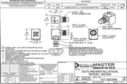 Dytran 3023A6三轴型加速度传感器 产品说明书