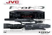 JVC GY-HD110摄像机 说明书
