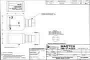 Dytran 3053B1三轴型加速度传感器 产品说明书