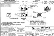 Dytran 3333M1T三轴型加速度传感器 产品说明书