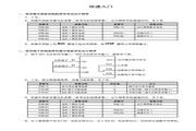 海浦蒙特 HD30-2T018G矢量控制变频器 用户手册