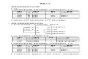 海浦蒙特 HD30-2T011G矢量控制变频器 用户手册