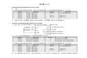 海浦蒙特 HD30-2T7P5G矢量控制变频器 用户手册