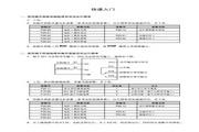 海浦蒙特 HD30-2D0P4G矢量控制变频器 用户手册