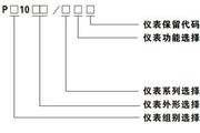 威胜PZ1056/1V数显电压表使用说明书