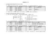 海浦蒙特 HD20-4T0P7G多功能变频器 用户手册
