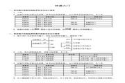 海浦蒙特 HD20-2D0P7G多功能变频器 用户手册
