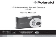 宝丽来Polaroid i1037数码相机 使用说明书
