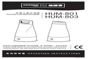 德国宝 HUM-803香薰冷雾放湿机 使用说明书