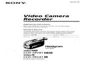 索尼 CCD-TRV81模拟摄像机 说明书