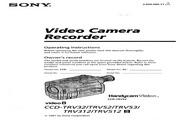 索尼 CCD-TRV512模拟摄像机 说明书