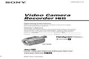 索尼 CCD-TRV49模拟摄像机 说明书