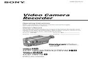 索尼 CCD-TRV46模拟摄像机 说明书