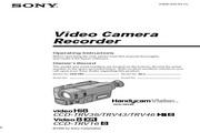 索尼 CCD-TRV43模拟摄像机 说明书