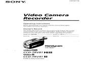索尼 CCD-TRV41模拟摄像机 说明书