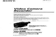 索尼 CCD-TRV35模拟摄像机 说明书