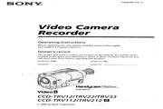 索尼 CCD-TRV212模拟摄像机 说明书