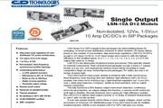 C&D西恩迪LSN-5/10-D12模块电源说明书