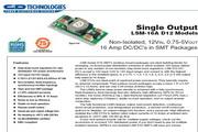 C&D西恩迪LSM-16-D12模块电源说明书