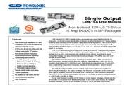 C&D西恩迪LSN-0.75模块电源说明书