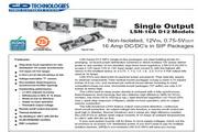 C&D西恩迪LSN-16-D12模块电源说明书