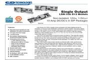 C&D西恩迪LSN-3.3模块电源说明书