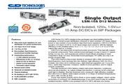 C&D西恩迪LSN-10-D12-C模块电源说明书