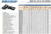 C&D西恩迪NMV5V模块电源说明书