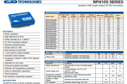 C&D西恩迪NPH10S系列模块电源说明书
