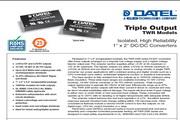 C&D西恩迪TWR-3.3模块电源说明书